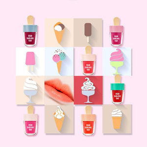 Multi Color Ice Cream Lip Gloss