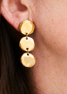 Nirvana Droplets - Small Yellow Gold