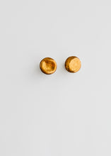 Load image into Gallery viewer, Yellow gold studs