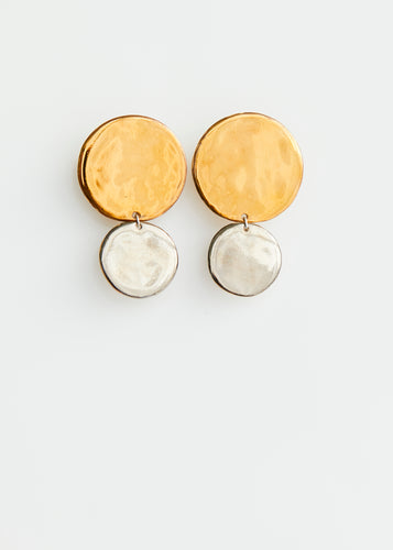 Lustre Drops - Yellow and White gold
