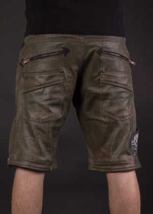 Flying Shorts Fake Leather Snake - PIRATE