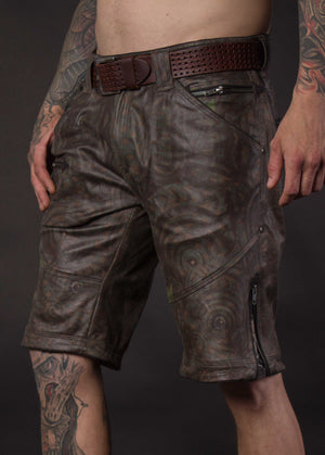 Flying Shorts Fake Leather Snake - BALIHIGH
