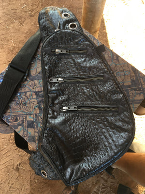 Botta Bag - BLACK CROC 3D