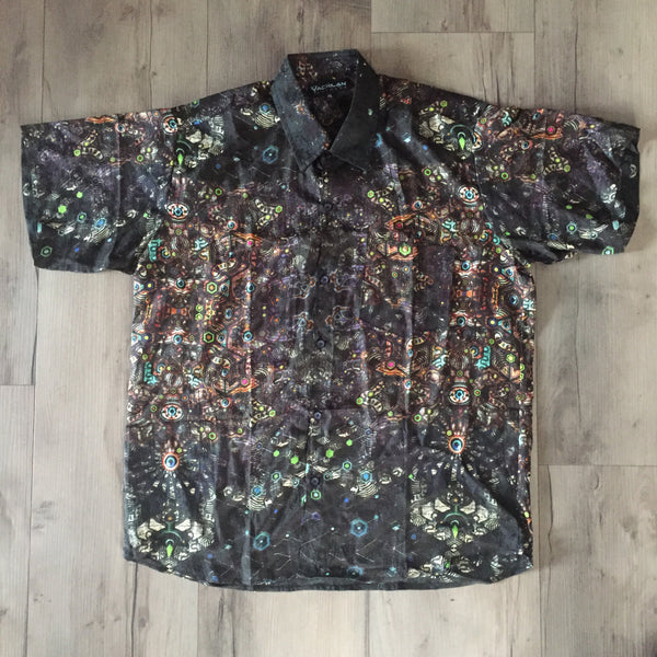 Shirt Men Halfsleeves Bangalore SILK - PSYGAL