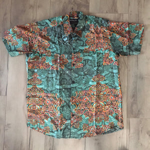 Shirt Half Sleeves Bangalora SILK - ATLANTIS