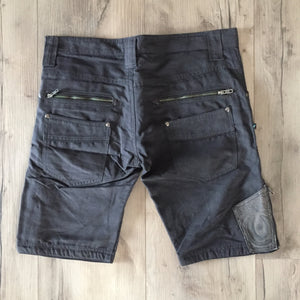Flying Shorts PLAIN - BLACK CHECK