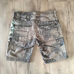 Flying Shorts Printed Linen - LIVINGSTONIA