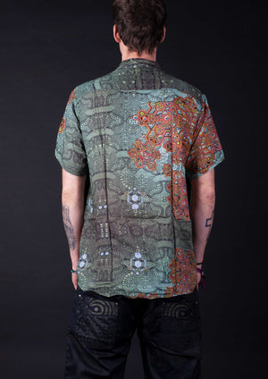 Shirt Half Sleeve Cotton  ATLANTIS