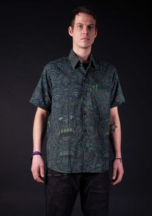 Shirt Men Half Sleeves Bamboo BALIWASKA