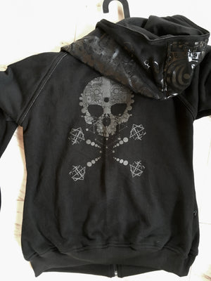 Hoodies Woman Cotton Screenprint Rubber - PIRATE