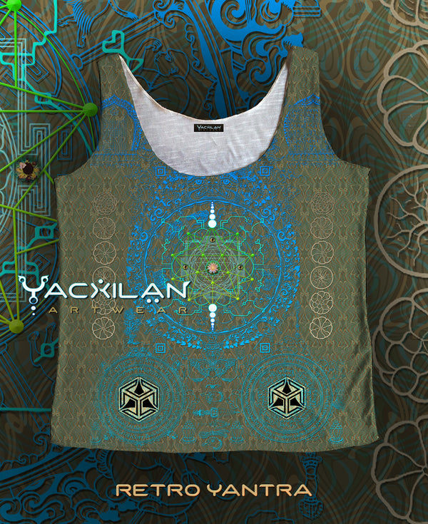 A-Tank Woman Spun Sublimation - RETRO YANTRA