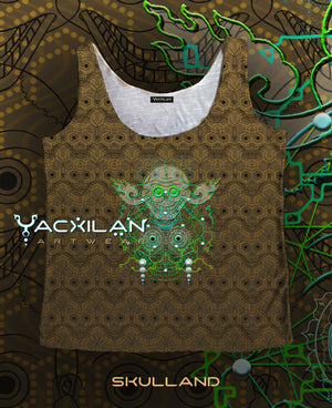 A-Tank Woman Spun Sublimation - SKULLAND