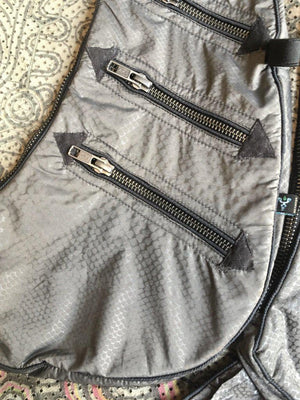 Botta Bag MICROFIBER - GREY SNAKE