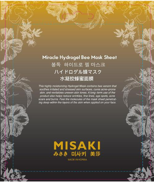 Misaki Miracle Hydrogel Bee Mask Sheet