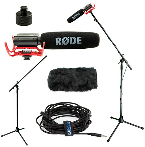 rode windmuff youtube video videographer boom voice record