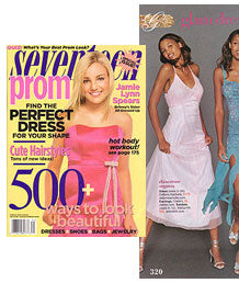 seventeen prom magazine fitted dresses bed sheets stay on