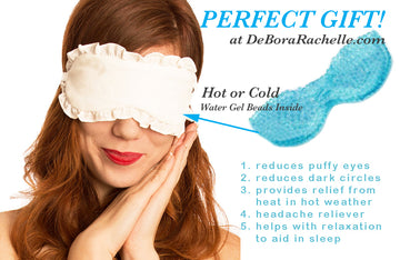 Sleep Mask with Gel beads (Hot or Cold Compress)