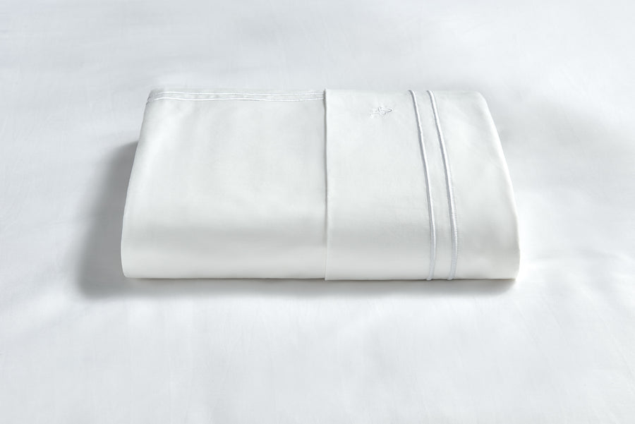 White Duvet cover comforter zip zip flip 100% cotton hypoallergenic healthy