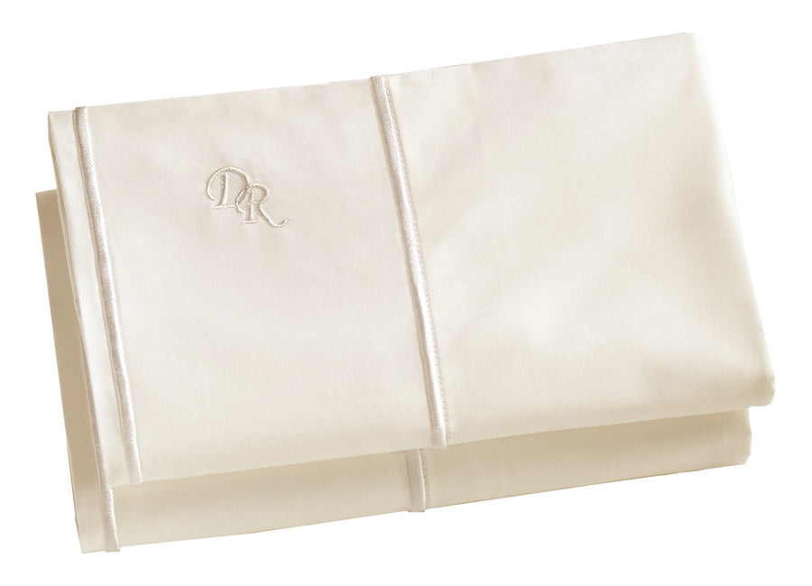 Ivory Pillowcase set Ultra Luxurious 100% cotton oeko-tex tested hypoallergenic allergy free cruelty free