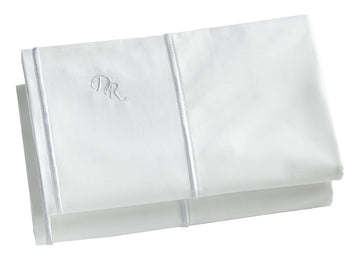 White 100% cotton breathable pillowcase set hypoallergenic allergy free