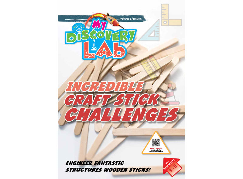 Box 5 -Incredible Craft Stick Challenges