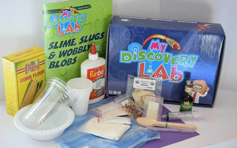 Slime, Slugs & Wobbly Blobs: Discovering the properties of polymers (Gift Kit)