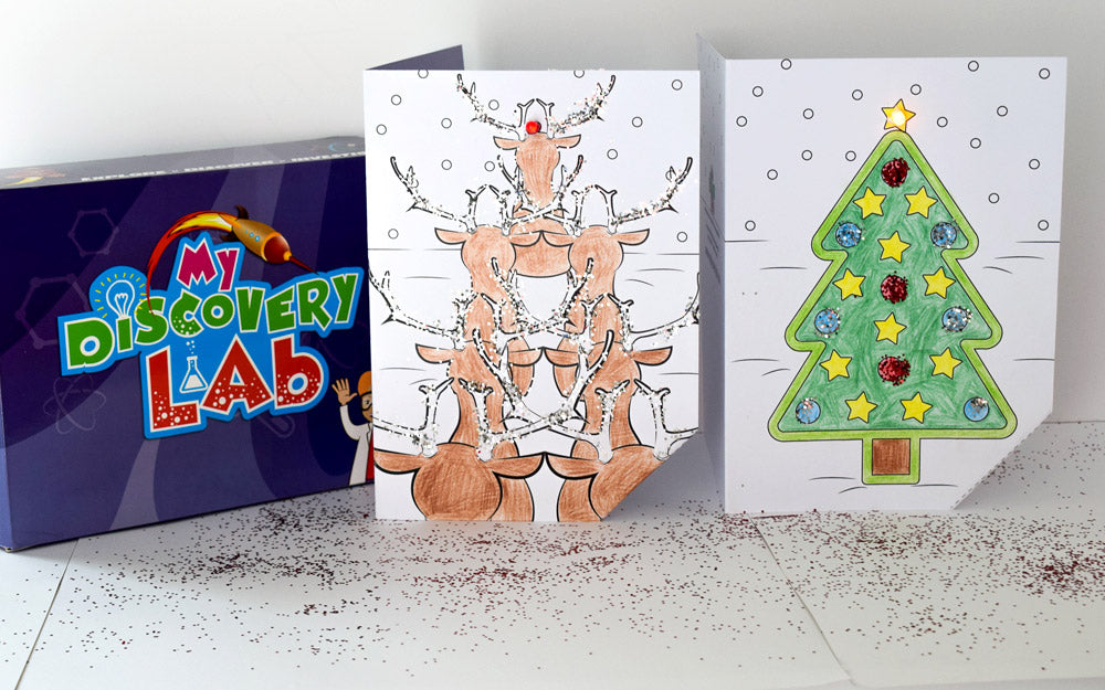 Circuit Science - Light up Festive Card