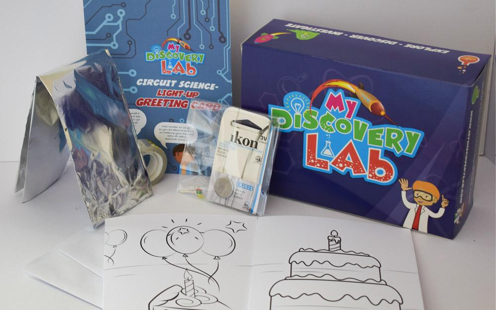 Circuit Science - Light up Birthday Card (Gift Kit)