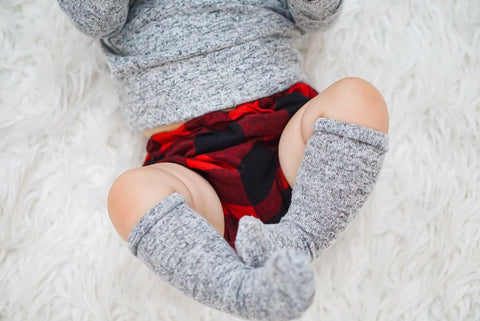 Sweater knee high socks