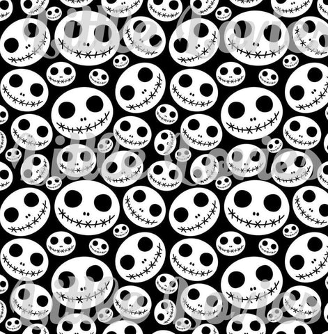 Jack skeleton knit fabric