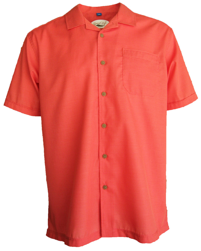 Men's Textured Lightweight Camp Shirt