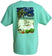 Men's Relax Beach Chair Cotton Beach T-Shirt