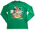 Long Sleeve Christmas T-Shirt - United Parrots Service