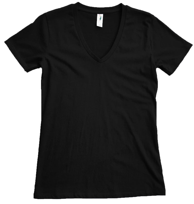 Good Life Women's Luxury Cotton V-Neck T-Shirts - Good Life Apparel