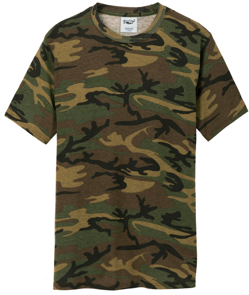Mens Cotton Camo Tee Shirt