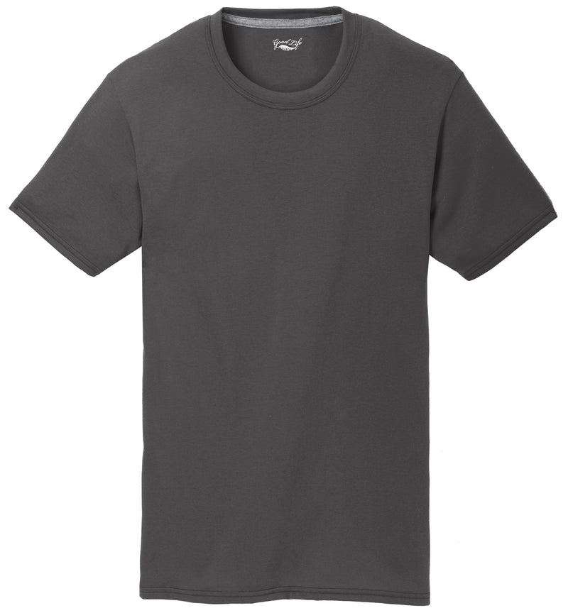 Men's Short Sleeve Performance Blend Poly Cotton