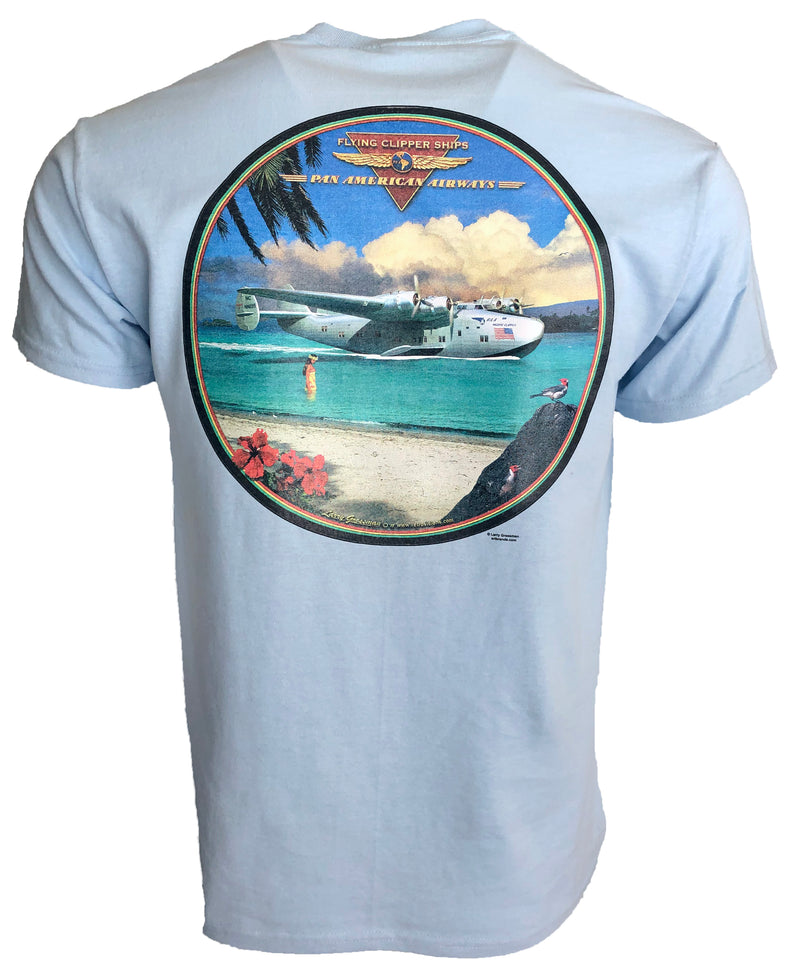 Limited Edition Polynesian Clipper Seaplane T-Shirt