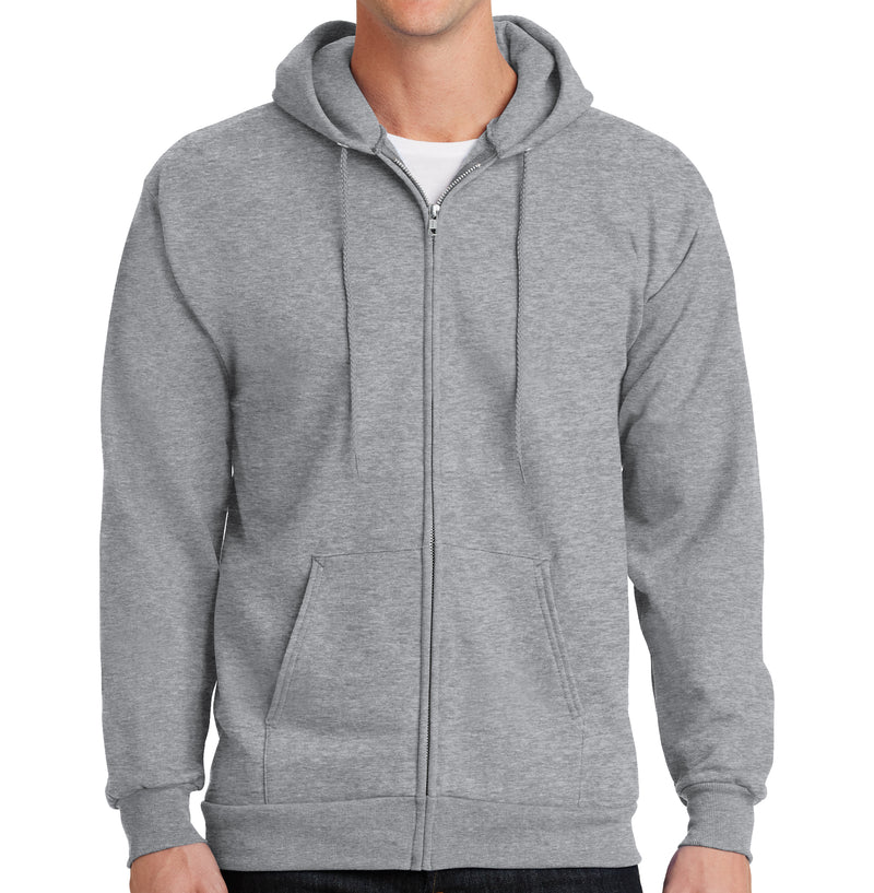 Men's Cotton Blend Hoodie Full Zip