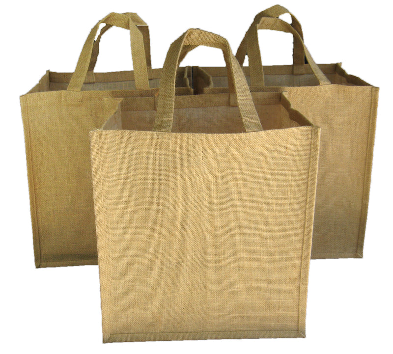 Reusable Heavy Duty Jute & Canvas Shopping Bags