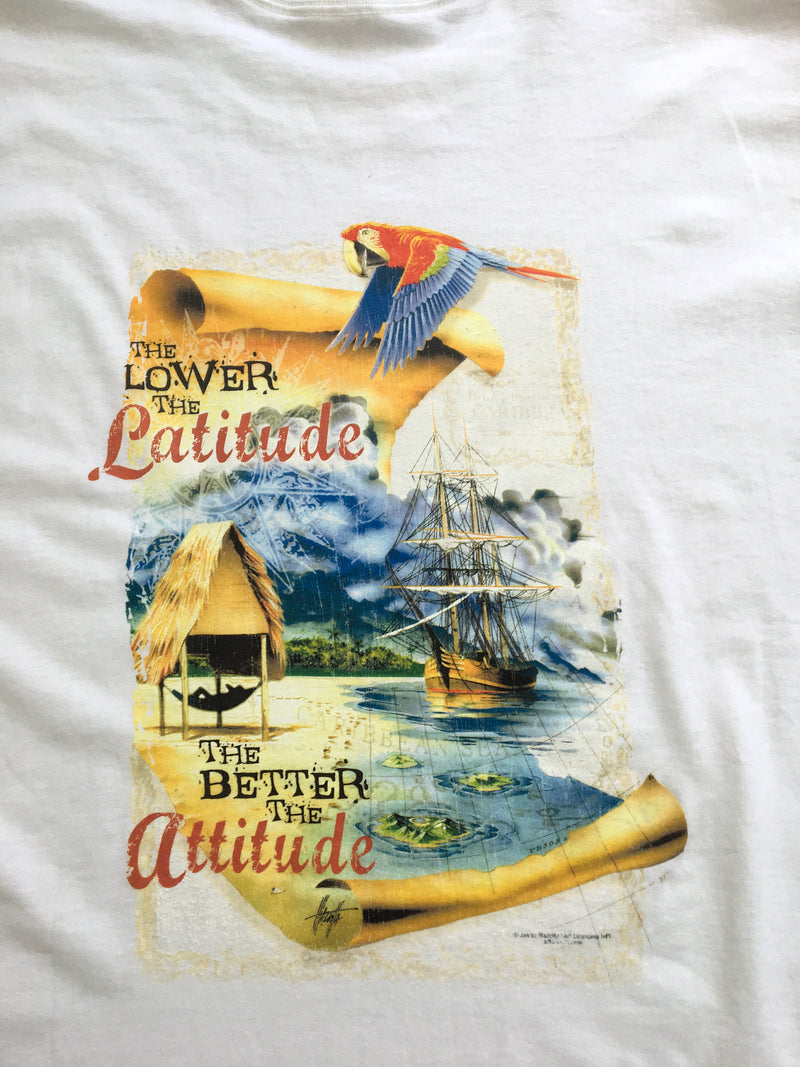 The Lower the Latitude the Better the Attitude T-Shirt - Good Life Apparel