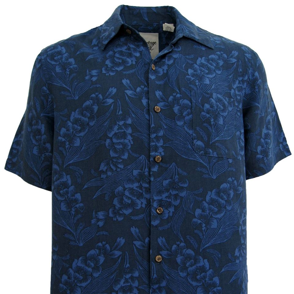 Maui Silk & Linen Blend Hawaiian Shirt - Good Life Apparel
