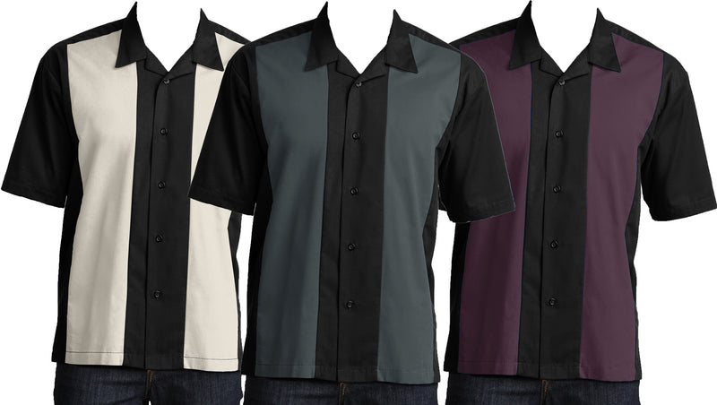 Men's Retro Camp Shirt 3-Pack