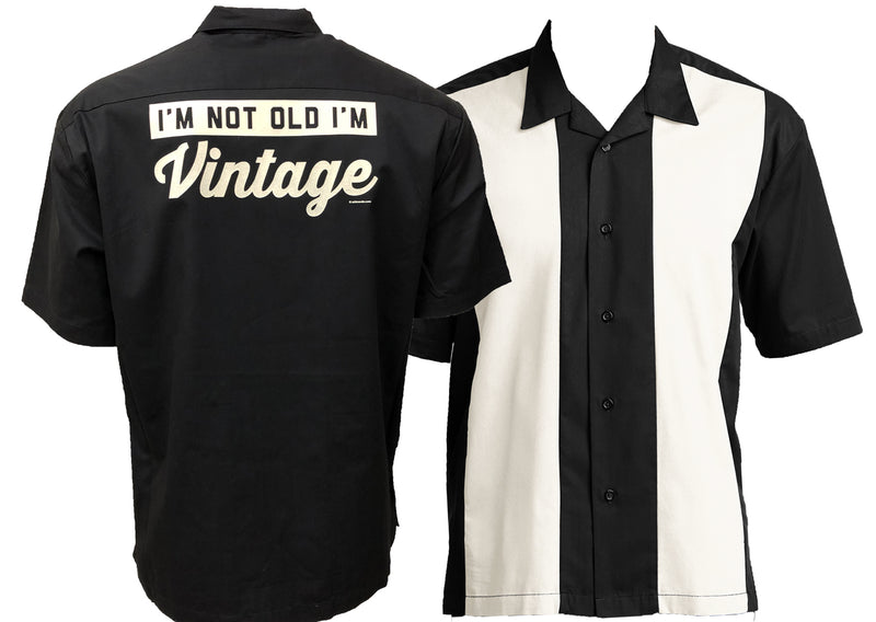 "Mens ""I'm not Old I'm Vintage"" Retro Camp Shirt"