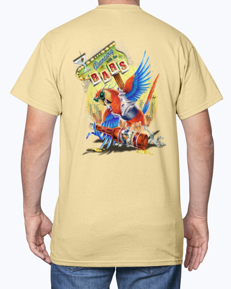 Dancing with the Bars Macaw T-shirt
