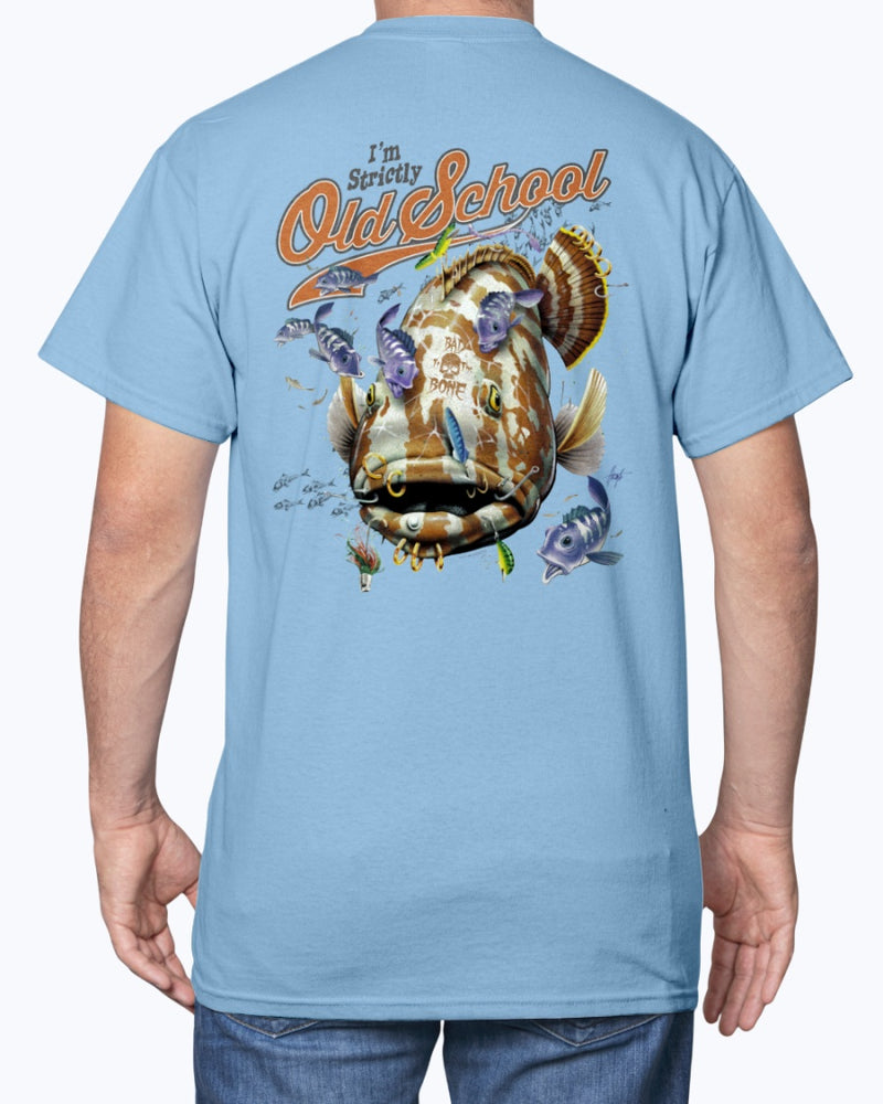 I'm Strictly Old School Grouper T-Shirt