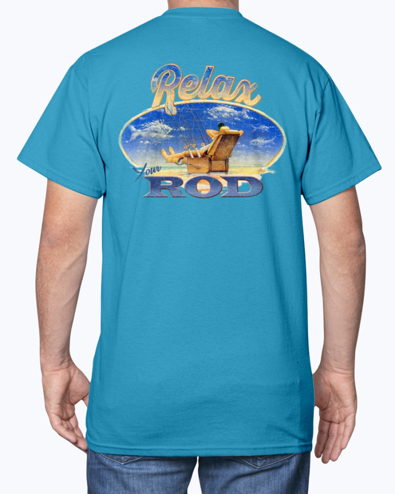 Relax Your Rod Fishing T-shirt