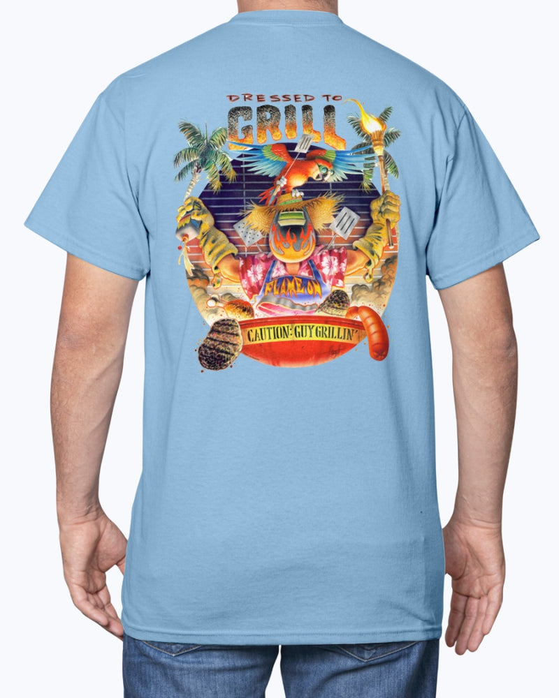 Dressed to Grill BBQ T-shirt