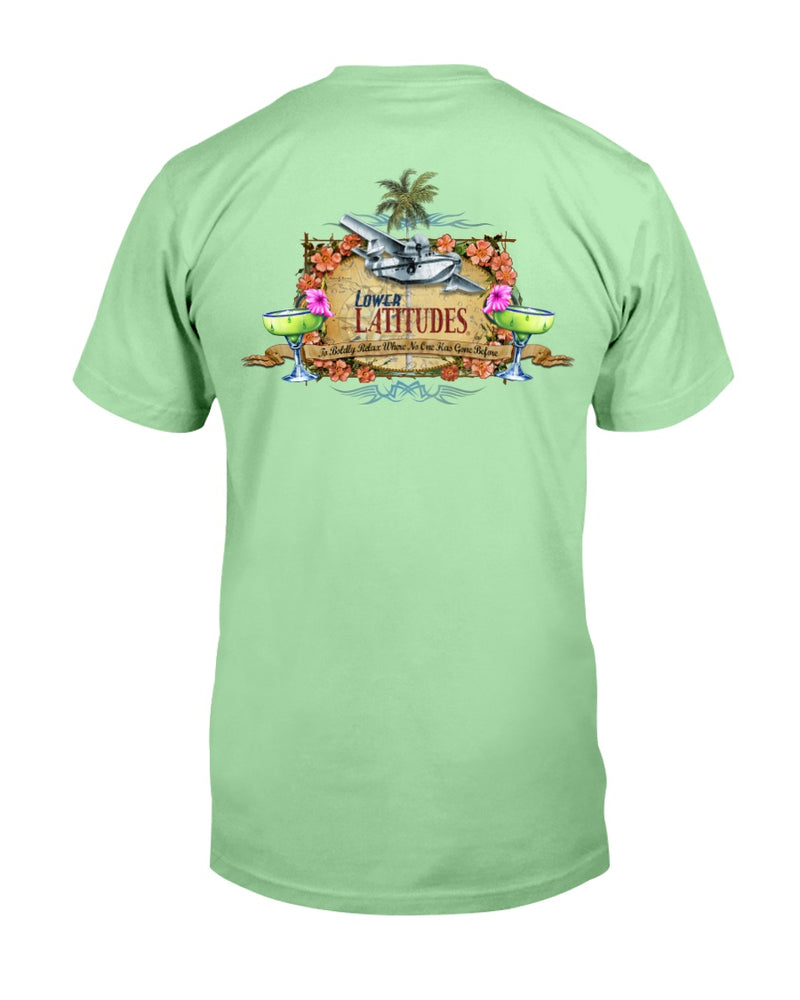 Lower Latitudes Seaplane Margarita Cotton T-Shirt