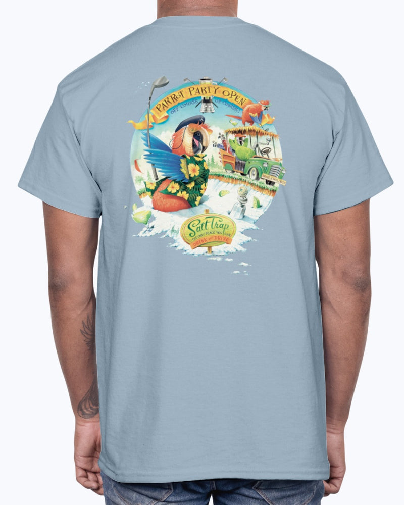 Parrot Party Open Golf T-shirt