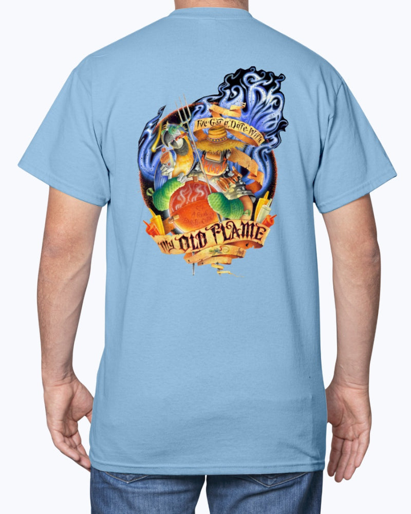 jimmy buffett tshirt cheeseburger in paradise caribbean soul